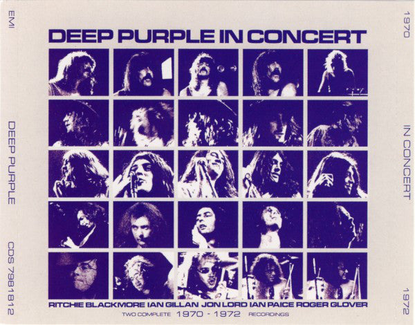 Deep Purple - In Concert (2xCD, Album, RE, RP) - USED