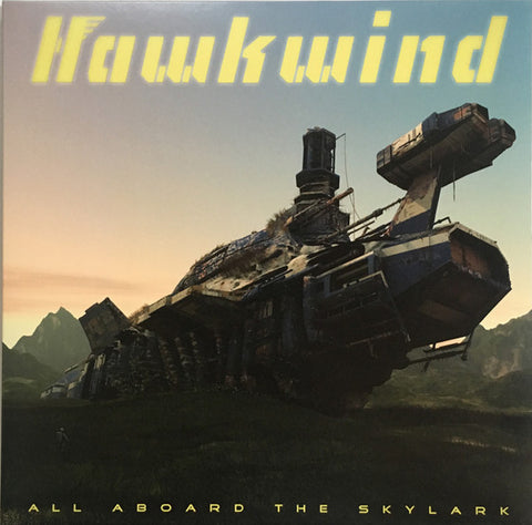 Hawkwind - All Aboard The Skylark (LP, Album, Gat) - NEW