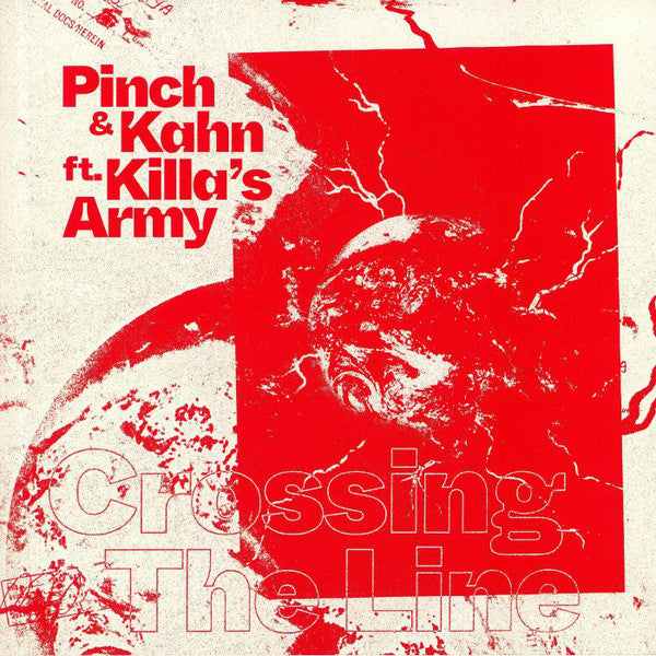 "Pinch (2) & Kahn (5) ft. Killa's Army - Crossing The Line (12"") - USED"