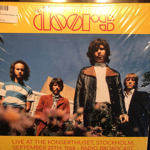 The Doors - Live At The Stockholm Konserthuset, Stockholm, September 20th, 1968 - Radio Broadcast (2xLP, Unofficial) - USED