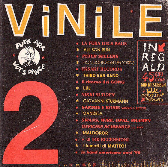 "Various - Vinile No.2 (7"") - USED"