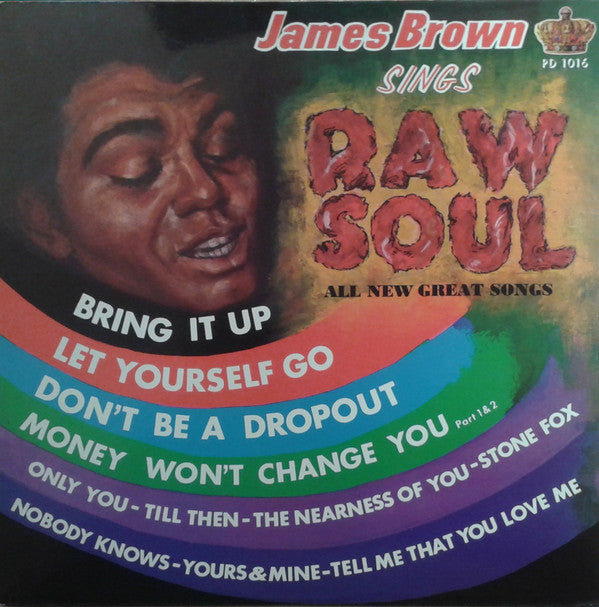 James Brown - Raw Soul (LP, Album, RE) - USED