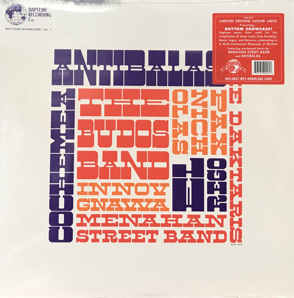 Various - Rhythm Showcase, Vol. 1 (LP, Album, Comp, Ltd, Col) - NEW