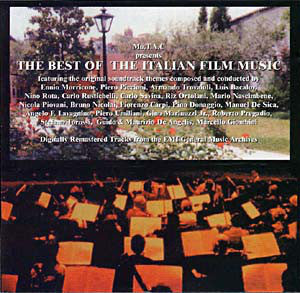 Various - The Best Of Italian Film Music (CD, Comp, Ltd, Promo) - NEW
