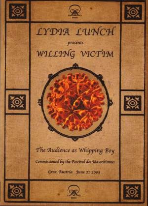 Lydia Lunch - Willing Victim (DVD-V) - NEW
