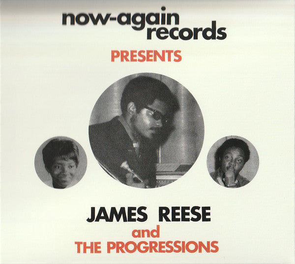 James Reese & The Progressions - Wait For Me (2xCD, Comp) - NEW