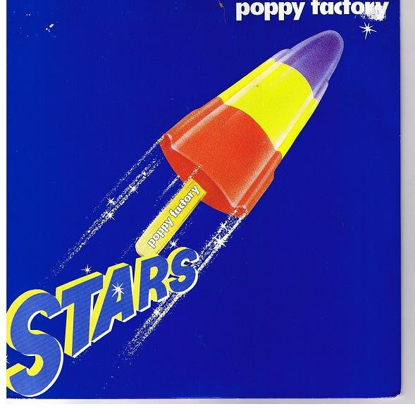 "Poppy Factory - Stars (7"") - USED"