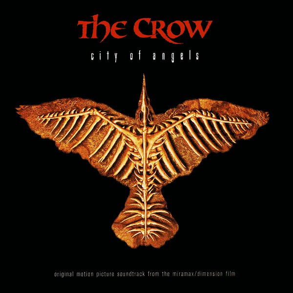 Various - The Crow: City Of Angels - Original Motion Picture Soundtrack (CD, Album, Comp) - USED