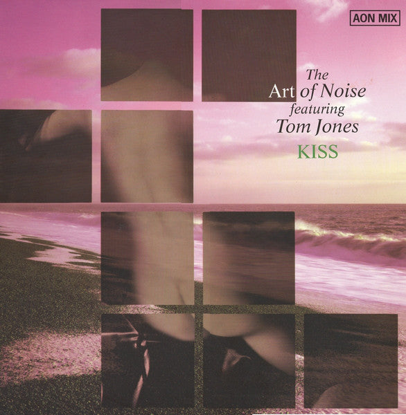 "The Art Of Noise Featuring Tom Jones - Kiss (AON Mix) (12"", Single) - USED"