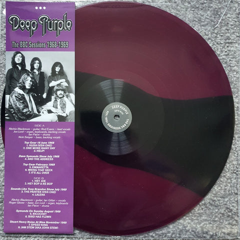 "Deep Purple - The BBC Sessions 1968 - 1969 (12"", Advance, Mono, Ltd, Unofficial) - NEW"