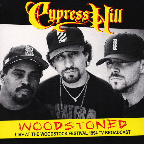 Cypress Hill - Woodstoned: Live At The Woodstock Festival 1994 TV Broadcast (LP, Unofficial) - NEW