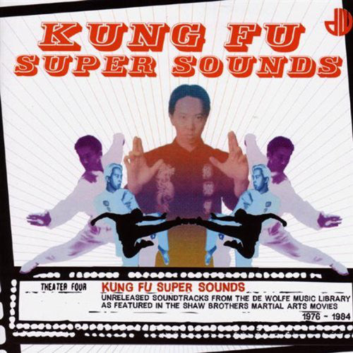 Various - Kung Fu Super Sounds (CD, Comp) - USED