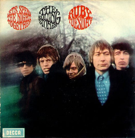 "The Rolling Stones - Let's Spend The Night Together / Ruby Tuesday (7"") - USED"