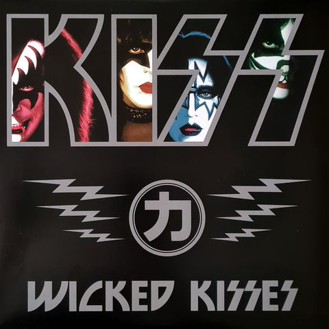 Kiss - Wicked Kisses (LP, Promo, Unofficial, Red) - NEW