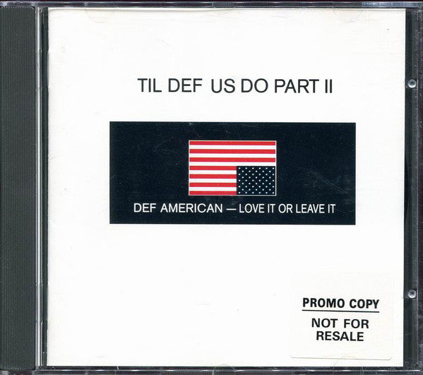 Various - Til Def Us Do Part II (CD, Smplr) - USED