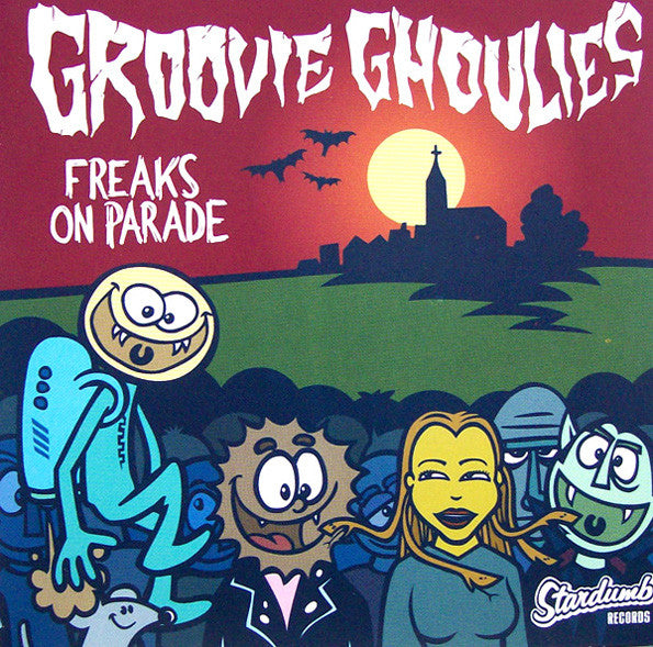 Groovie Ghoulies - Freaks On Parade (CD, EP) - NEW