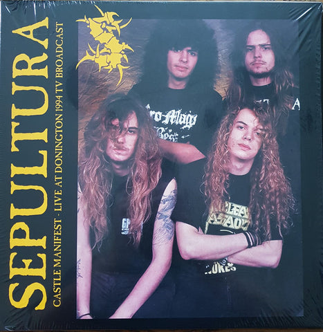 Sepultura - Castle Manifest - Live At Donington 1994 Tv Broadcast (LP, Ltd, Unofficial) - NEW