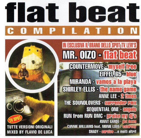 Various - Flat Beat Compilation (CD, Comp, Mixed) - USED