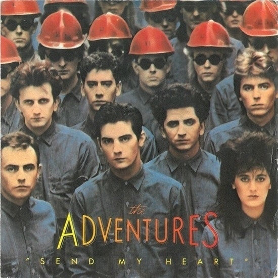 "The Adventures - Send My Heart (7"", Single) - USED"