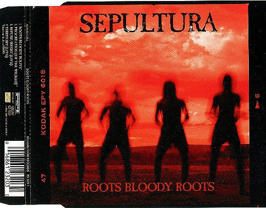 Sepultura - Roots Bloody Roots (CD, Single) - USED