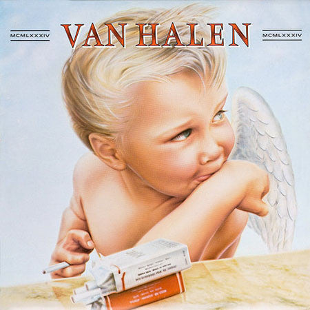 Van Halen - 1984 (LP, Album) - USED
