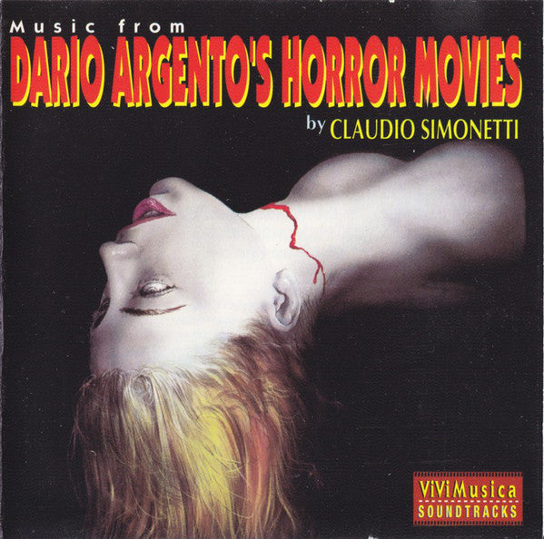 Claudio Simonetti - Music From Dario Argento's Horror Movies (CD, Comp) - USED