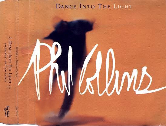 Phil Collins - Dance Into The Light (CD, Single, Promo) - USED