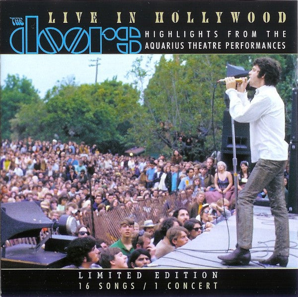 The Doors - Live In Hollywood: Highlights From The Aquarius Theatre Performances (CD, Album, Ltd, Jew) - USED