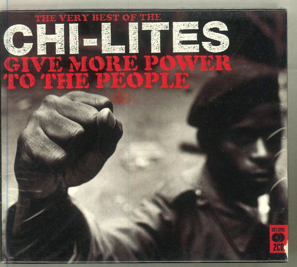 The Chi-Lites - Give More Power To The People (The Very Best Of The Chi-Lites) (2xCD, Comp) - USED