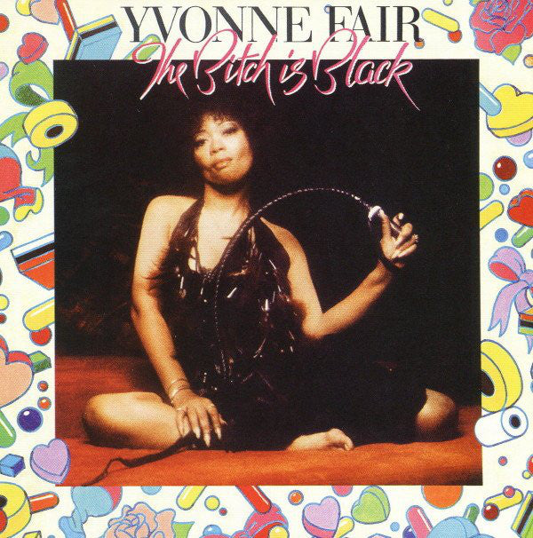 Yvonne Fair - The Bitch Is Black (CD, Album, RE) - USED