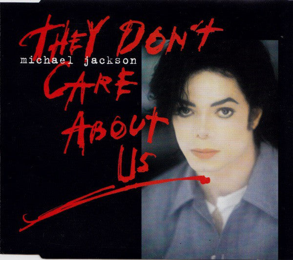 Michael Jackson - They Don't Care About Us (CD, Maxi) - USED