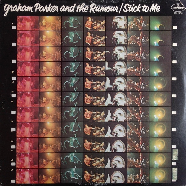 Graham Parker And The Rumour - Stick To Me (LP, Album) - USED