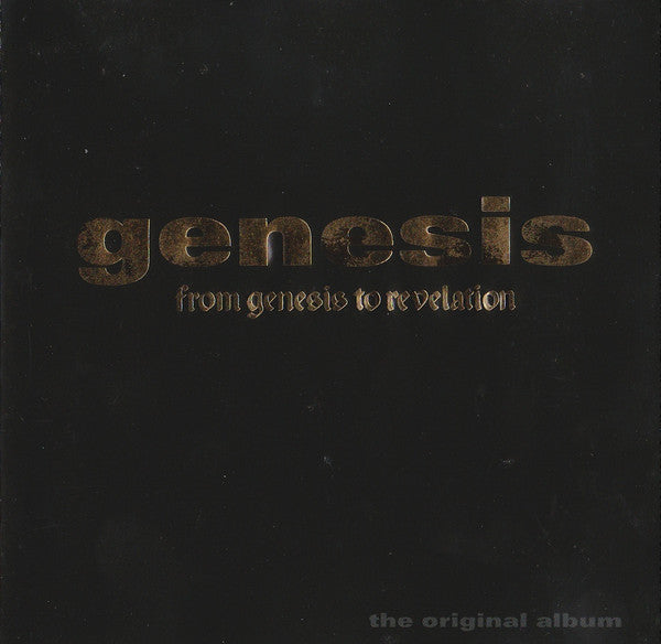 Genesis - From Genesis To Revelation (CD, Album, RE) - USED