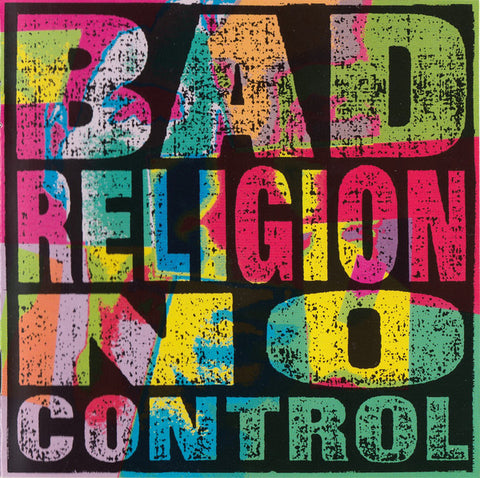 Bad Religion - No Control (CD, Album, RE, RM) - USED