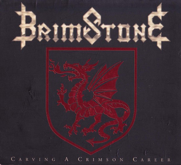 Brimstone - Carving A Crimson Career (CD, Album) - USED