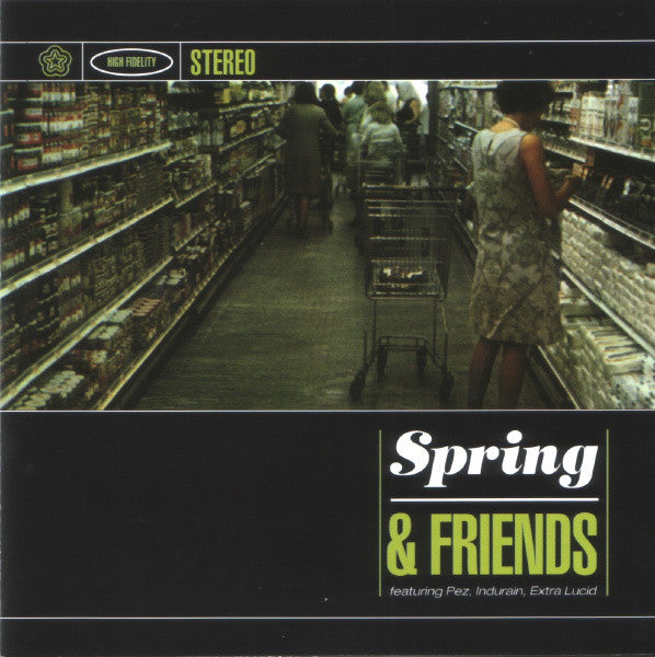 Spring - Spring & Friends  (CD, Comp) - USED