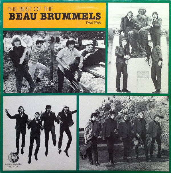 The Beau Brummels - The Best Of The Beau Brummels 1964 - 1968 (LP, Comp) - USED