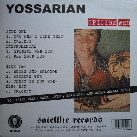 Yossarian - Spiders Web (LP) - USED