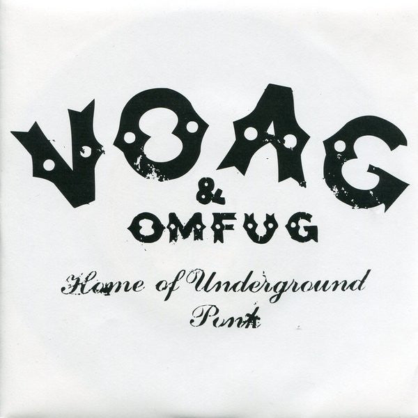 "VOAG* - Cause For Alarm (7"") - USED"