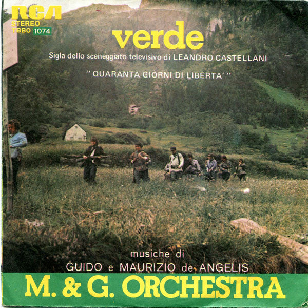 "M. & G. Orchestra* - Verde / È Difficile   (7"", Single) - USED"