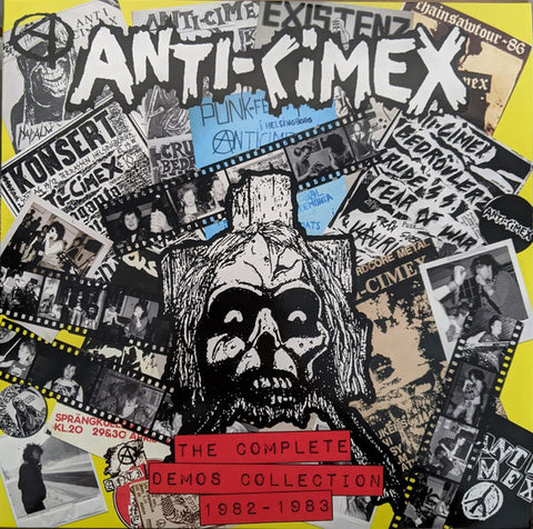 Anti-Cimex* - The Complete Demos Collection 1982 - 1983 (LP, Comp, RM) - NEW