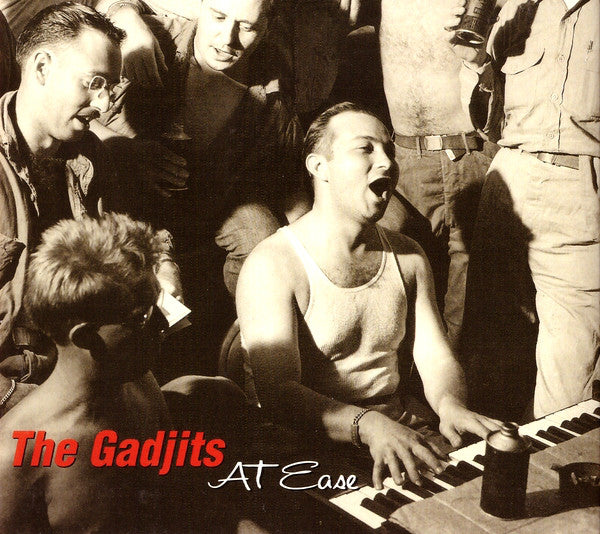The Gadjits - At Ease (CD, Album, Promo, Dig) - USED