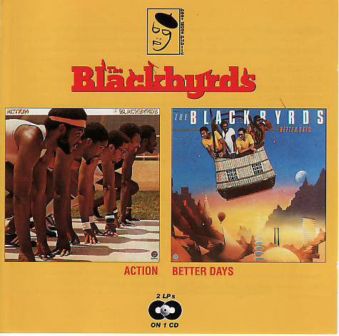The Blackbyrds - Action / Better Days (CD, Album, Comp, RE) - USED