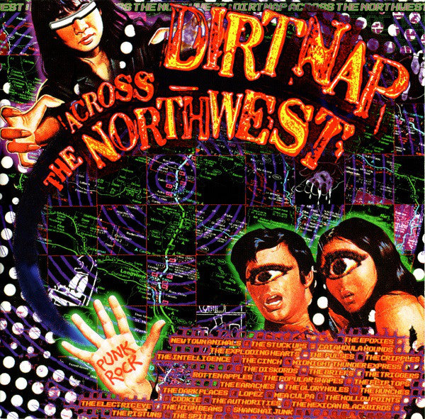 Various - Dirtnap Across The Northwest (CD, Album, Comp) - USED
