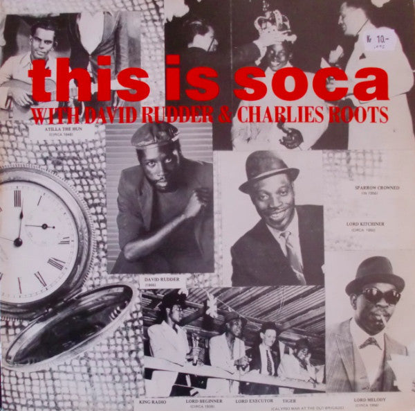 Various / David Rudder & Charlies Roots - This Is Soca (2xLP, Comp) - USED