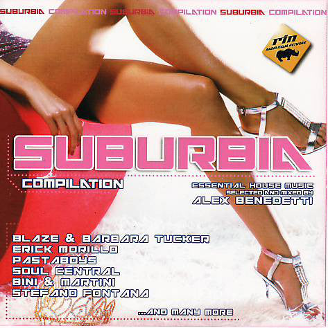 Various - Suburbia Compilation (CD, Comp, Mixed) - USED