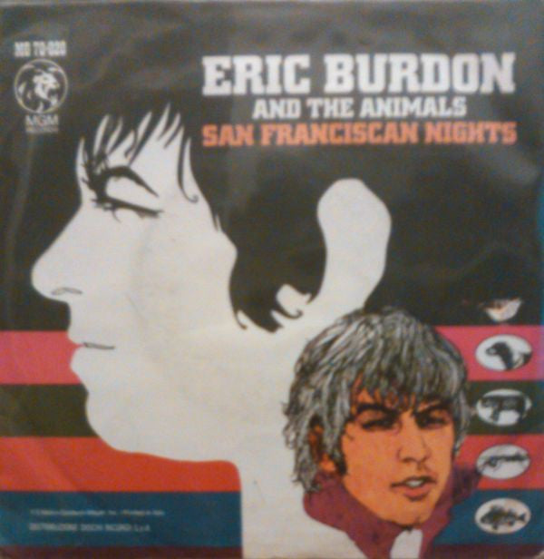 "Eric Burdon And The Animals* - San Franciscan Nights (7"") - USED"