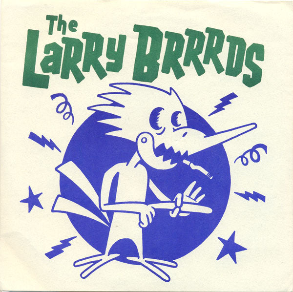 "The Larry Brrrds - The Larry Brrrds (7"", EP) - USED"