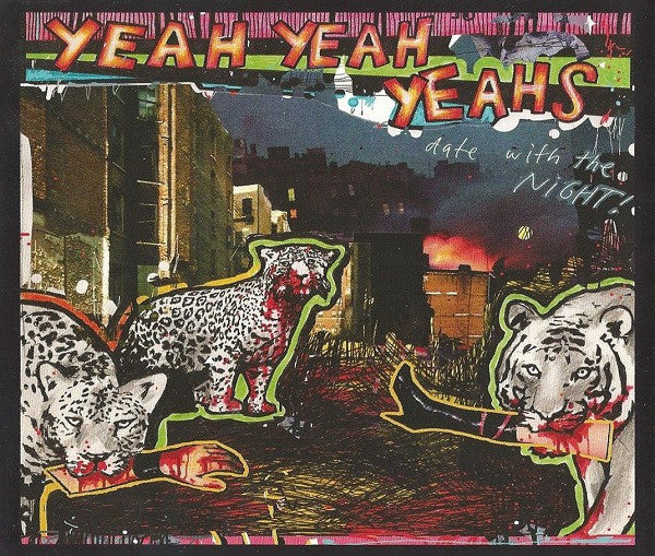 Yeah Yeah Yeahs - Date With The Night! (CD, Promo) - USED