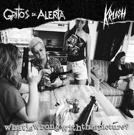 "Gritos De Alerta / Krush (12) - What Is Wrong With This Picture? (7"") - USED"